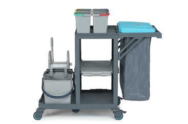 Cleaning trolley Procart compl