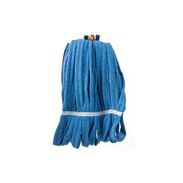 Mop blauw microvezel 350gr