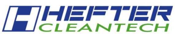 Hefter Cleantech. Schrobzuigmachines met besparende technologie.