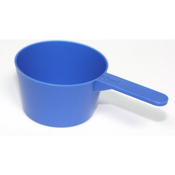 Maatbeker schepje blauw